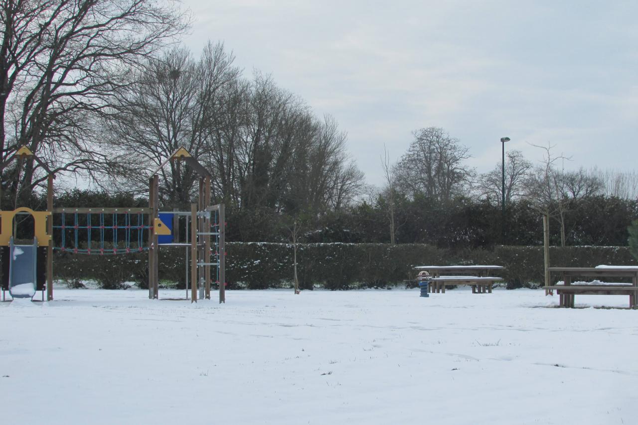 28/02/2018...La neige était au rendez-vous!