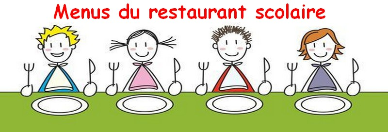 QUOTIDIEN : Menus du restaurant scolaire