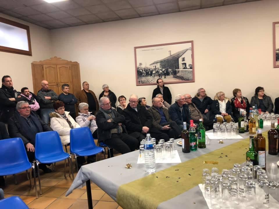 Année 2019 : Cérémonie des voeux du Maire