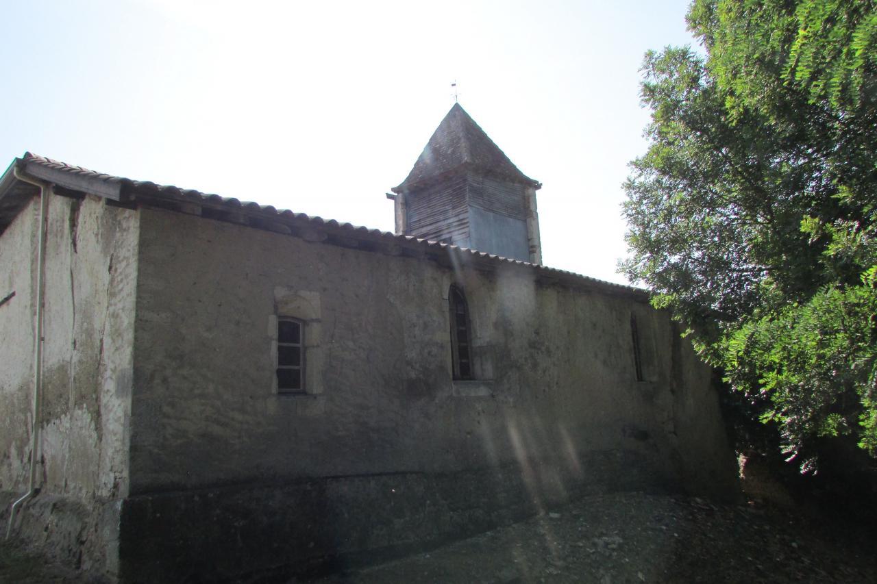 Chapelle du Bourcòt - Vue arrière
