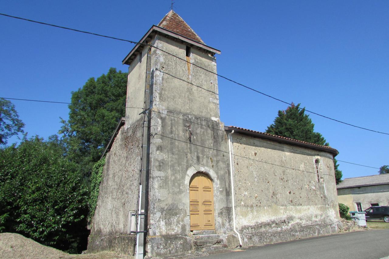 Chapelle du Bourcòt - Vue entrée