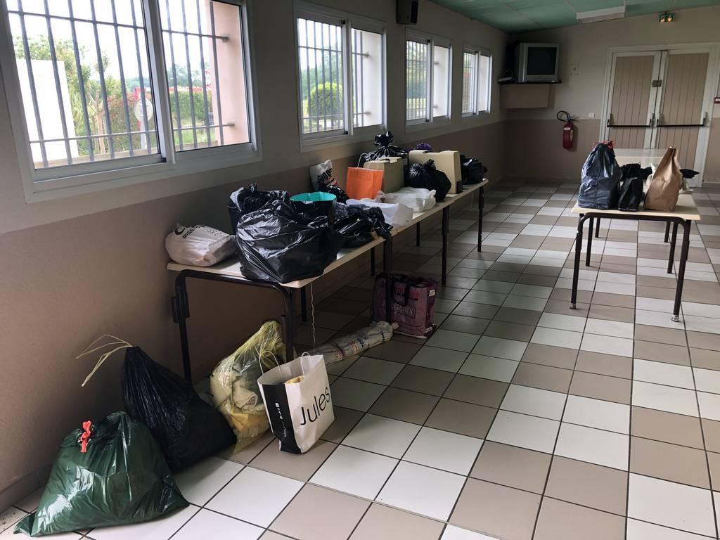 25/04/2020 : Récolte des dons et premiers préparatifs.