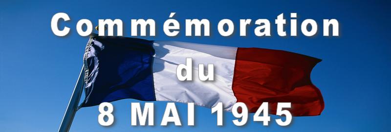 COMMÉMORATION : Cérémonie du 8 mai