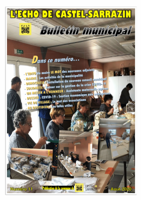 Bulletin municipal aout 2020 couverture 1