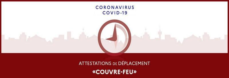 COVID-19 : Régime du couvre-feu