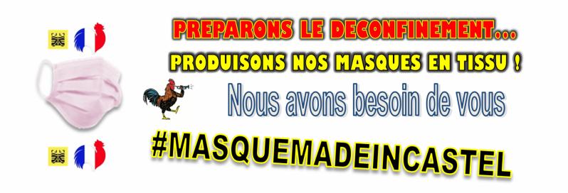 Covid 19 masques bann